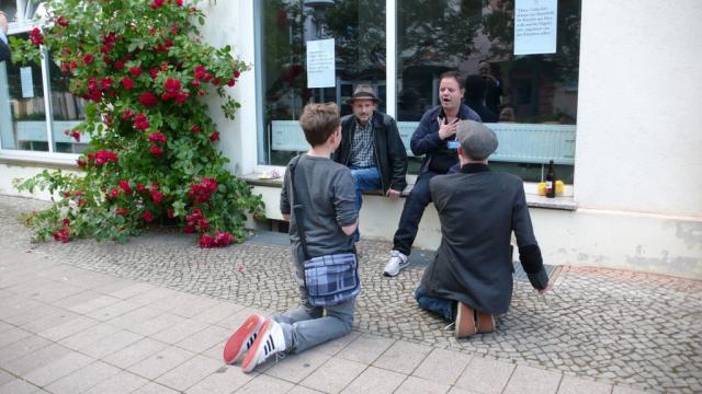 Richard Spitzner im Interview mit Michael Clegg & Martin Guttmann