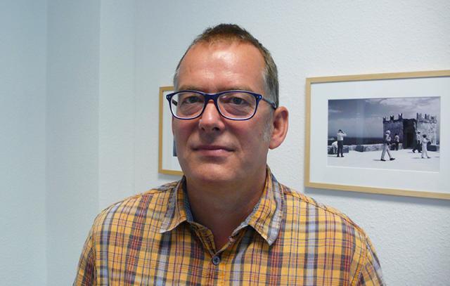 Jens Wegner bei den Sieben Künsten.