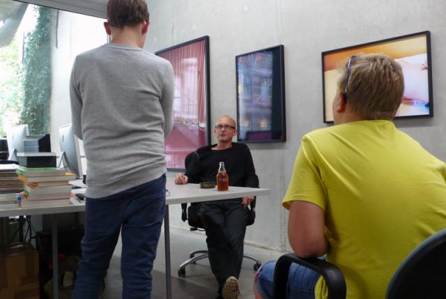 Richard Spitzner und Stefan Nagel mit Alexander Koch