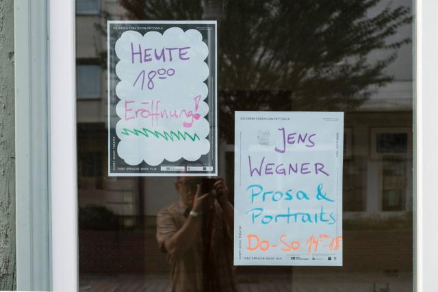 Ankündigung (Foto: Jens Wegner)